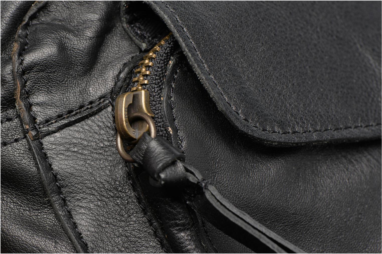 Handtassen Pieces Naina leather Crossover new Zwart links