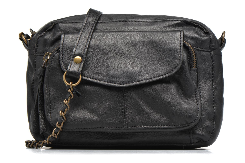 Handtassen Pieces Naina leather Crossover new Zwart detail