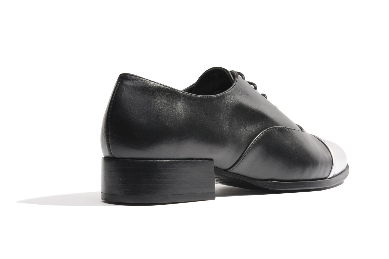 Scarpe con lacci Made by SARENZA Bataclan #15 Nero modello indossato