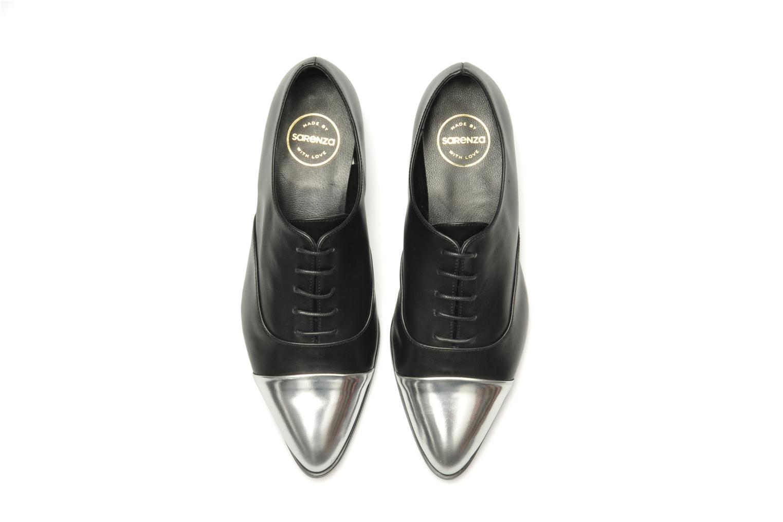 Chaussures à lacets Made by SARENZA Bataclan #15 Noir vue haut