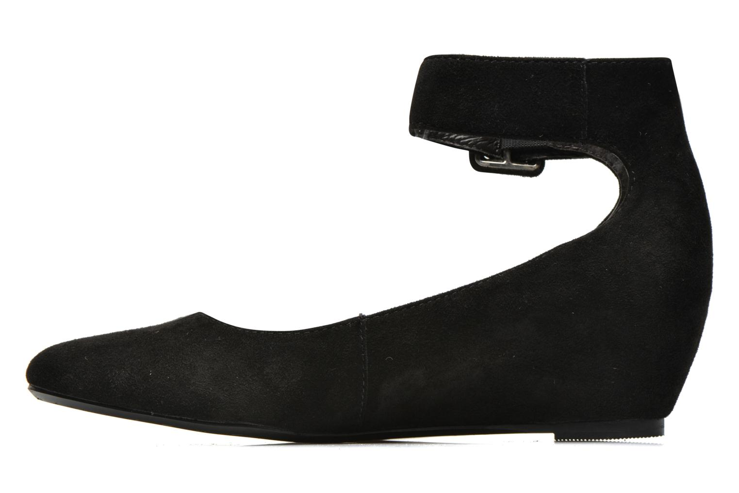 1Glisse Kid Suede Black