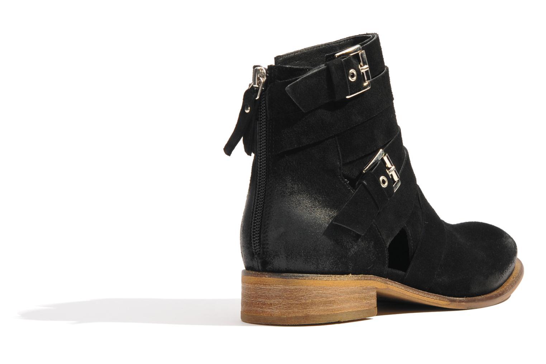 Bottines et boots Made by SARENZA Buttes-Chaumont #7 Noir vue face