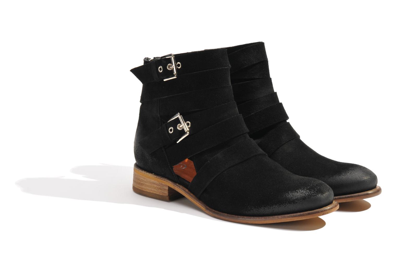 Bottines et boots Made by SARENZA Buttes-Chaumont #7 Noir vue derrière