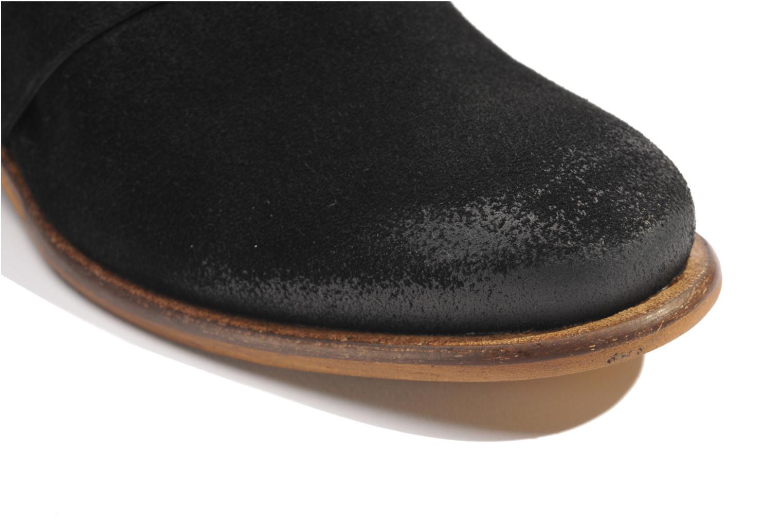 Bottines et boots Made by SARENZA Buttes-Chaumont #7 Noir vue haut