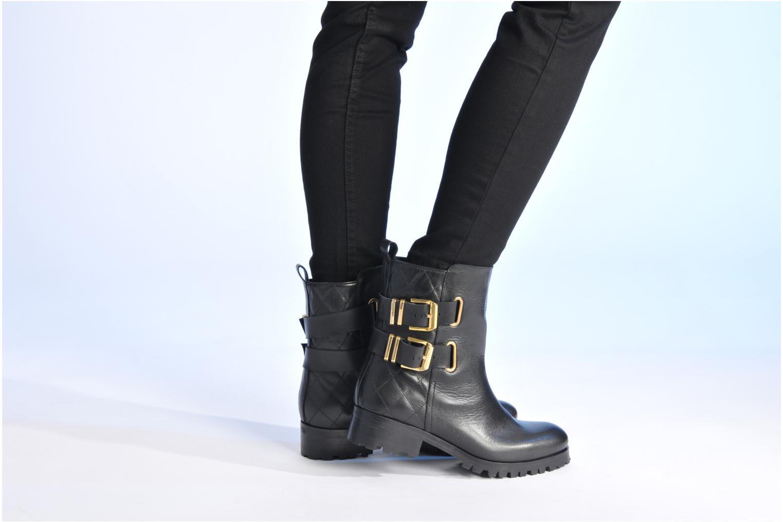 Stiefeletten & Boots Made by SARENZA Bataclan #8 schwarz ansicht von unten / tasche getragen