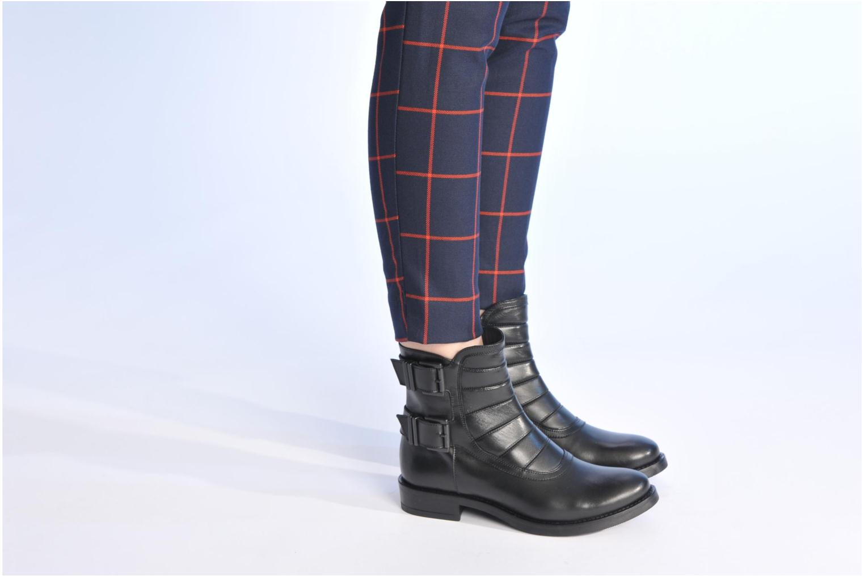 Bottines et boots Made by SARENZA Bataclan #20 Noir vue bas / vue portée sac