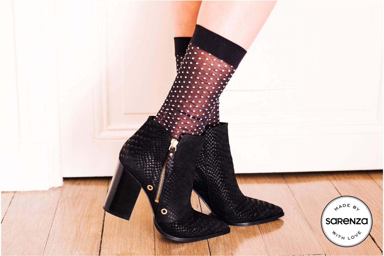 Bottines et boots Made by SARENZA Bataclan #2 Noir vue 3/4