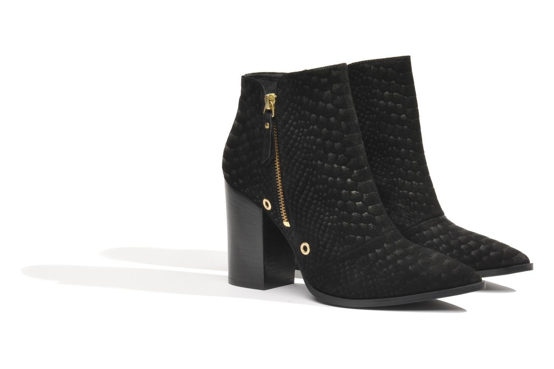Bottines et boots Made by SARENZA Bataclan #2 Noir vue derrière