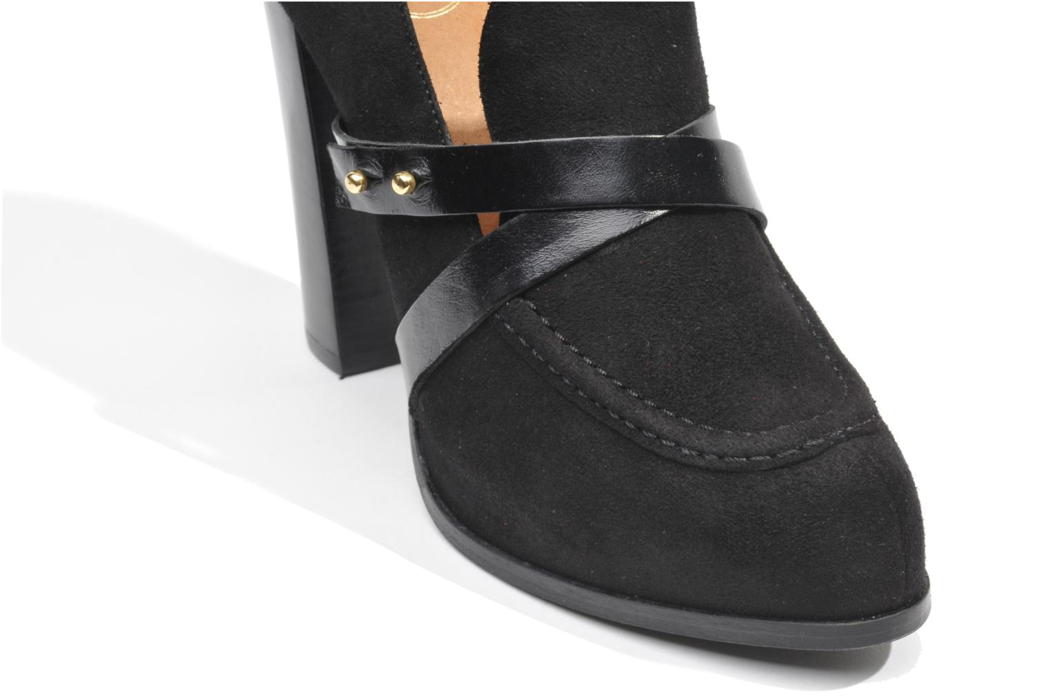 Loafers Made by SARENZA Rue des Dames #2 Black view from the left