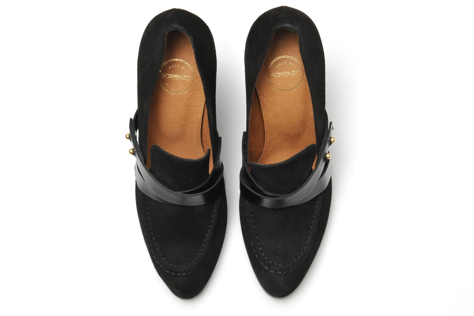 Loafers Made by SARENZA Rue des Dames #2 Black view from above