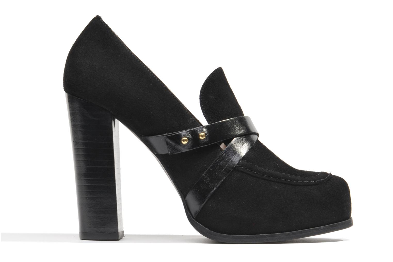 Loafers Made by SARENZA Rue des Dames #2 Black detailed view/ Pair view