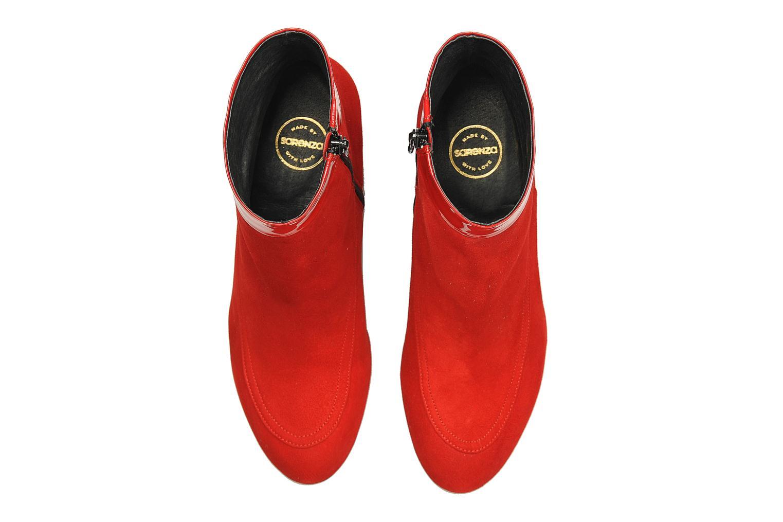 Botines  Made by SARENZA Queens Cross #17 Rojo vista del modelo
