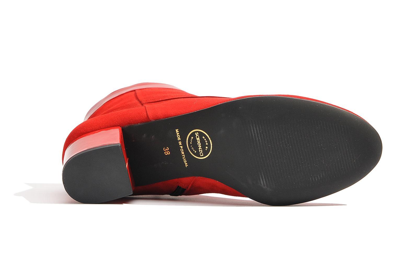 Ankelstøvler Made by SARENZA Queens Cross #17 Rød se fra venstre
