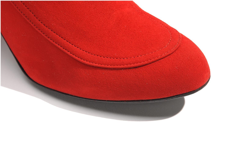 Botines  Made by SARENZA Queens Cross #17 Rojo vista de arriba