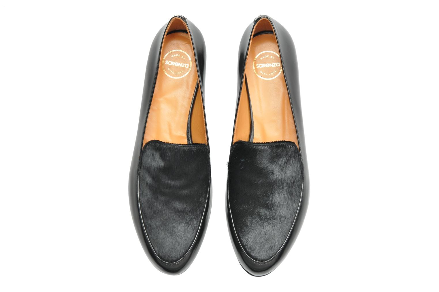 Loafers Made by SARENZA Café With Colette #1 Black model view