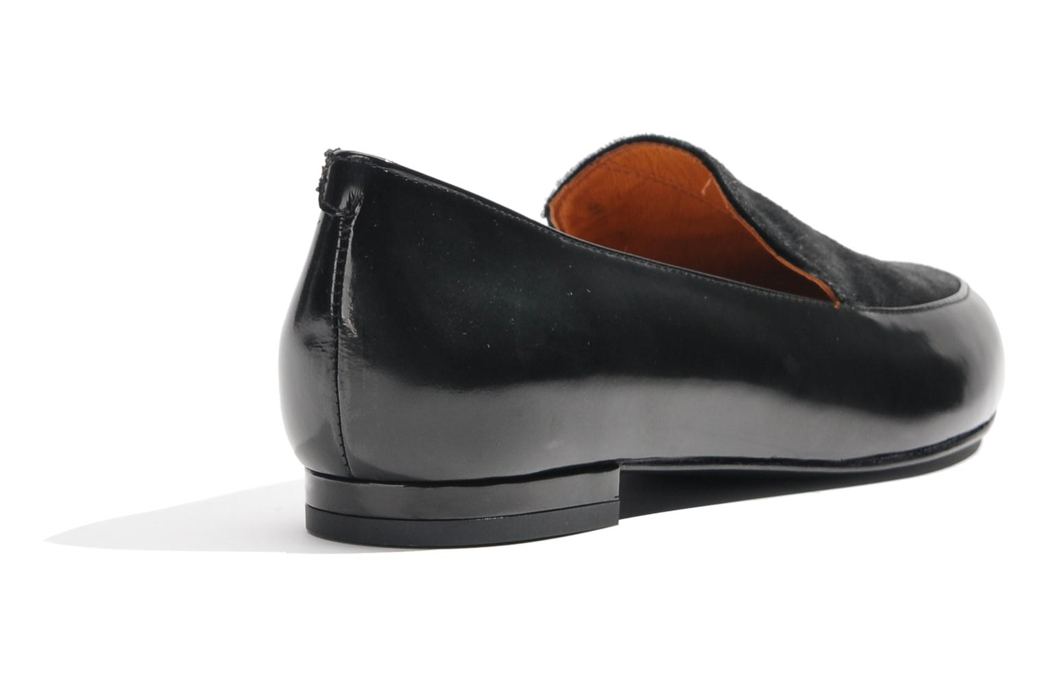 Loafers Made by SARENZA Café With Colette #1 Black front view