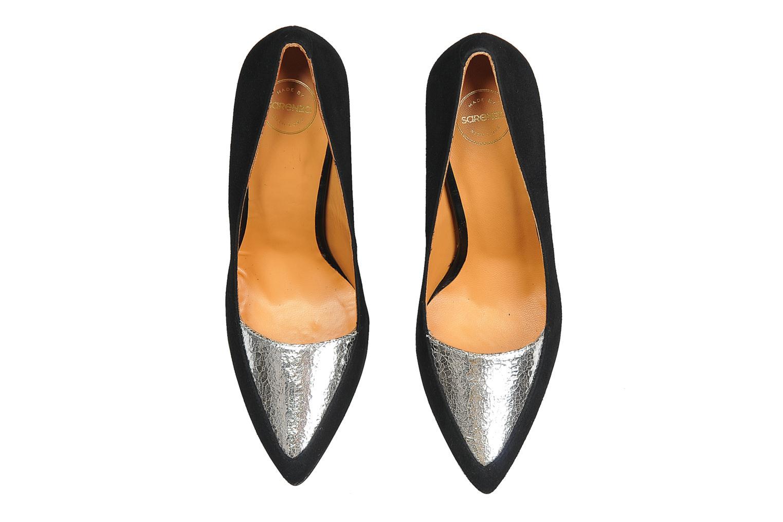 Zapatos de tacón Made by SARENZA Monceau #14 Plateado vista del modelo