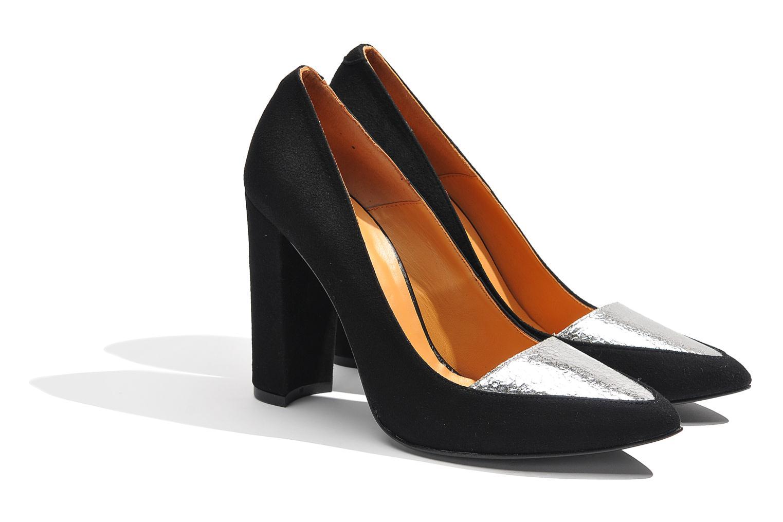 Høje hæle Made by SARENZA Monceau #14 Sølv se bagfra