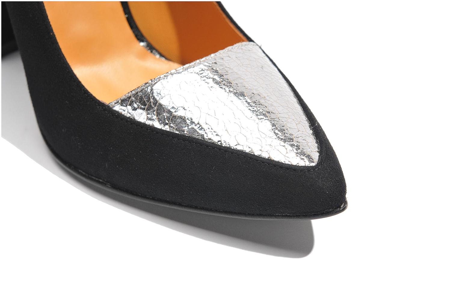 High heels Made by SARENZA Monceau #14 Silver view from above