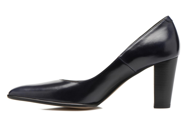 High heels Perlato Piaza Blue front view