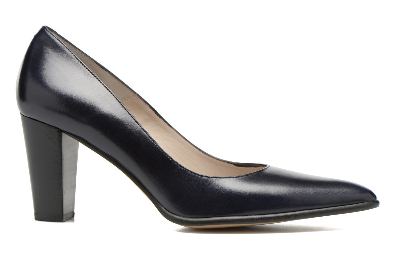 High heels Perlato Piaza Blue back view