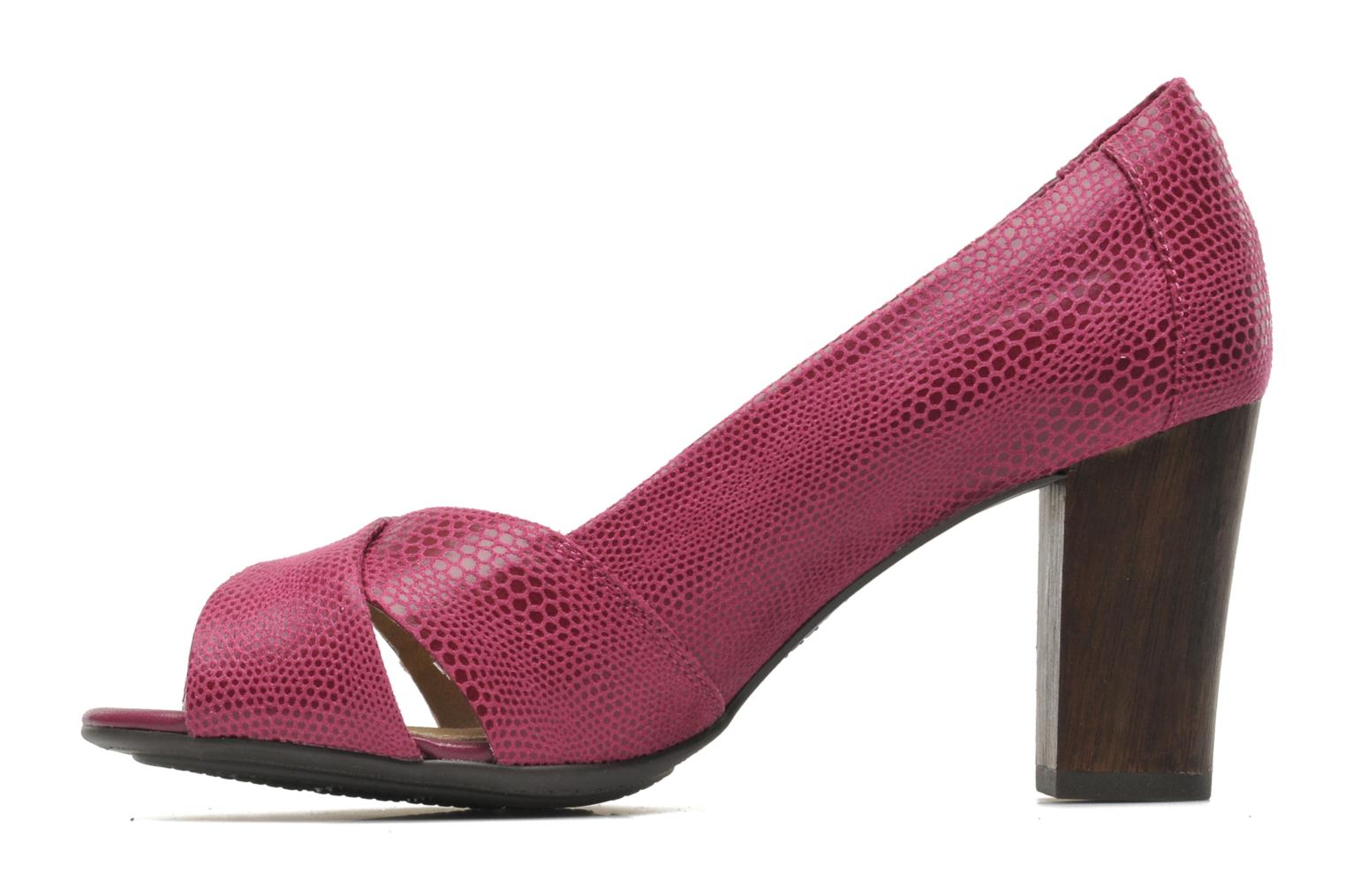 High heels Hush Puppies Shadell Sisany Pink front view