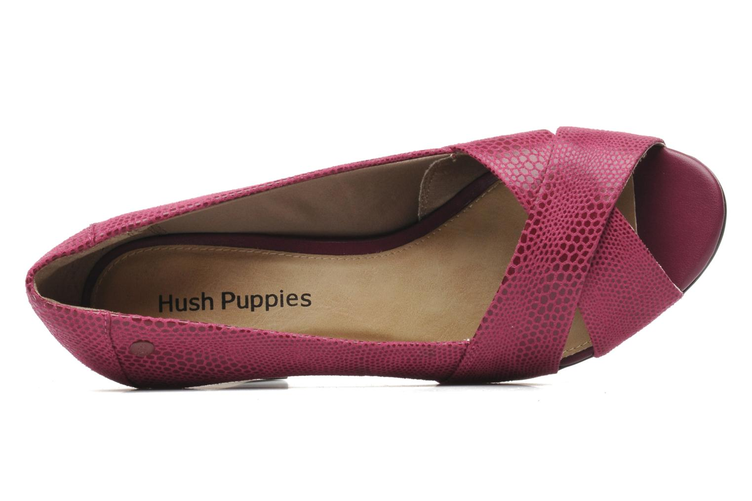 Pumps Hush Puppies Shadell Sisany rosa ansicht von links