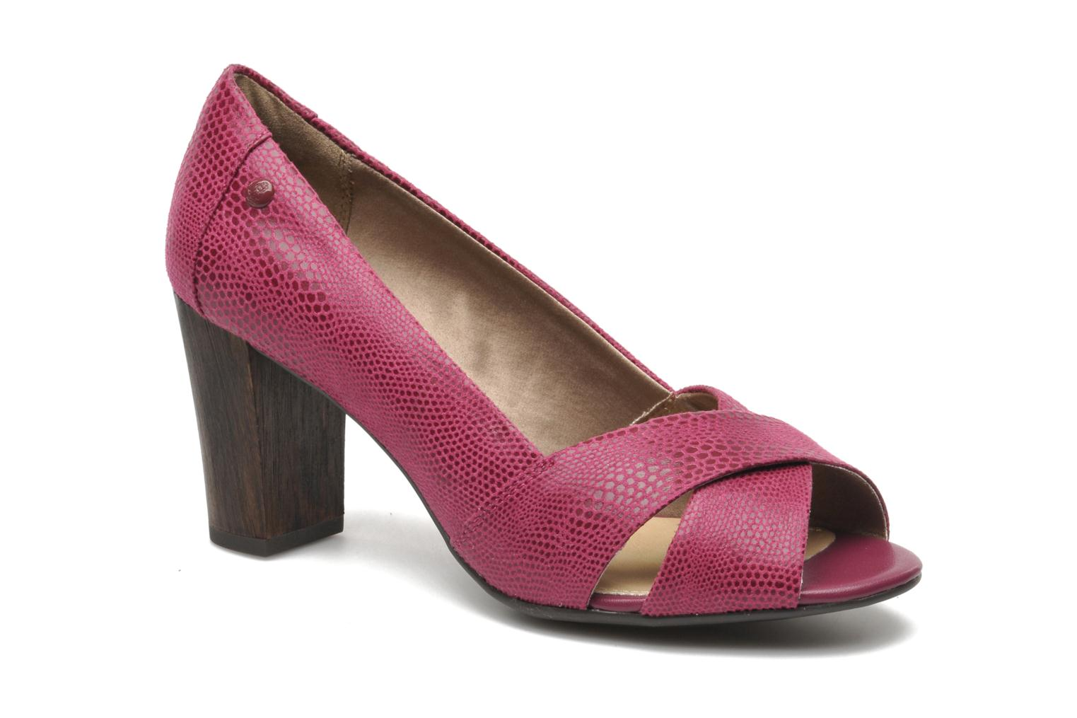 High heels Hush Puppies Shadell Sisany Pink detailed view/ Pair view