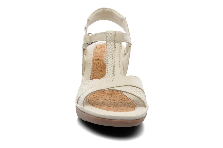 Sandales et nu-pieds Hush Puppies Natasha Russo Beige vue portées chaussures
