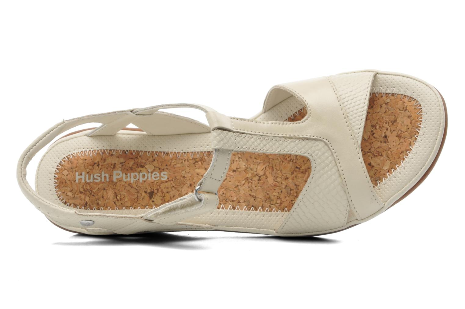 Sandalen Hush Puppies Natasha Russo Beige links