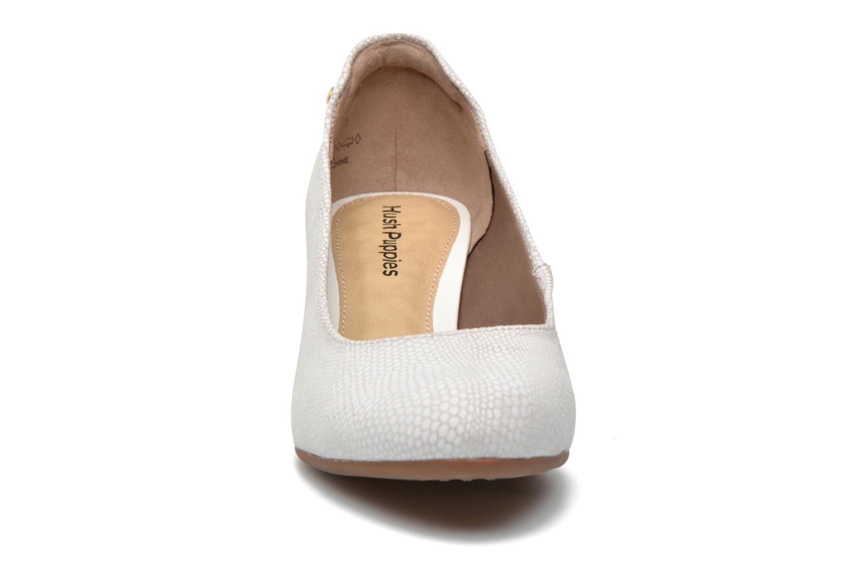 Escarpins Hush Puppies Farah Rhea Blanc vue portées chaussures
