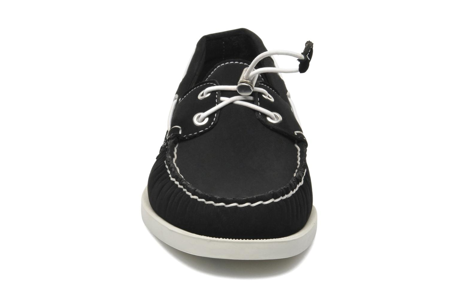 Veterschoenen Sebago Docksides neoprene Zwart model
