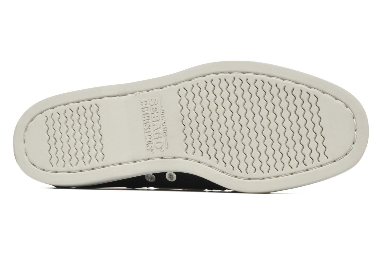 Snörade skor Sebago Docksides neoprene Svart bild från ovan