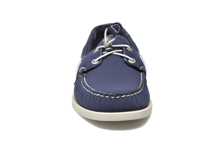 Snøresko Sebago Docksides neoprene Blå se skoene på