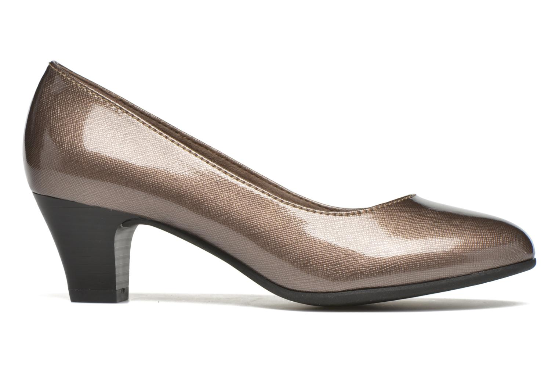 Pumps Jana shoes Anis Beige bild från baksidan