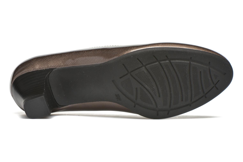 Zapatos de tacón Jana shoes Anis Beige vista de arriba