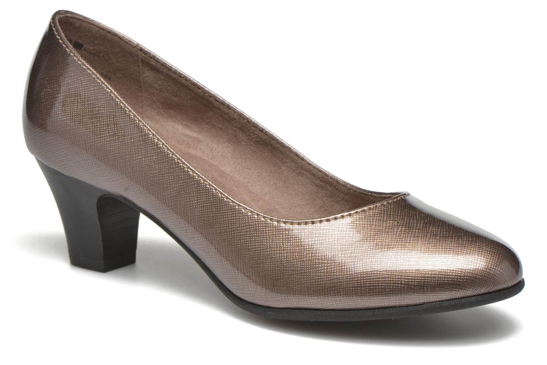 Zapatos de tacón Jana shoes Anis Beige vista de detalle / par