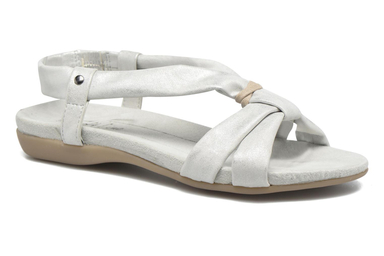 Sandales et nu-pieds Jana shoes Jana Argent vue détail/paire