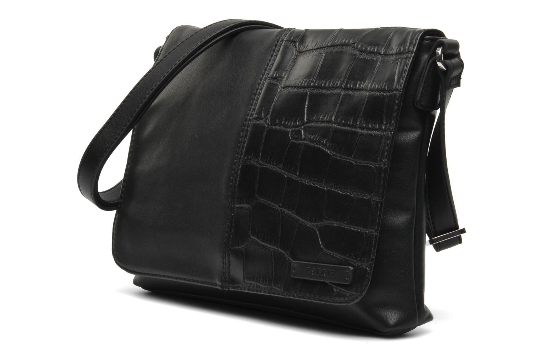 Borse Esprit Laura M Shoulderbag Nero modello indossato