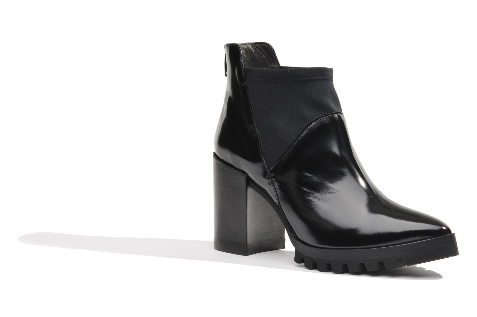 Ankle boots Made by SARENZA Bataclan #18 Black front view
