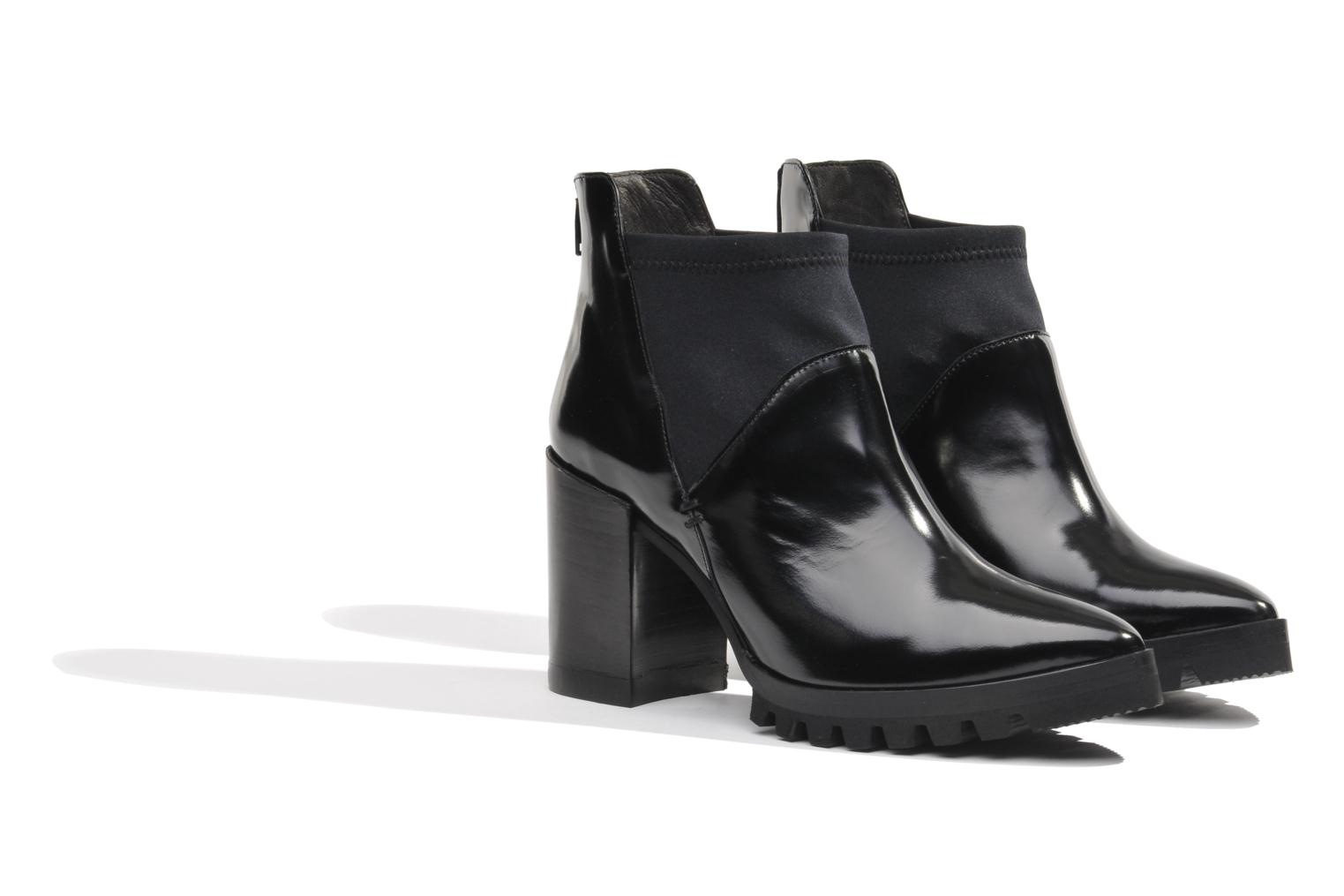 Ankle boots Made by SARENZA Bataclan #18 Black view from the right