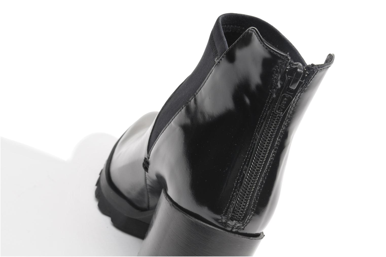 Ankle boots Made by SARENZA Bataclan #18 Black view from the left