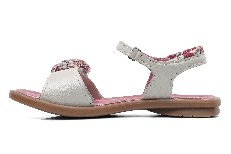 Sandales et nu-pieds Mod8 Jalouse E Blanc vue face