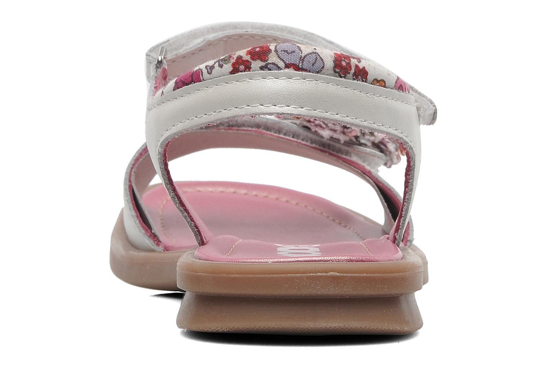 Sandales et nu-pieds Mod8 Jalouse E Blanc vue droite
