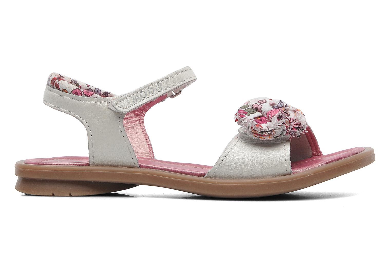 Sandales et nu-pieds Mod8 Jalouse E Blanc vue derrière