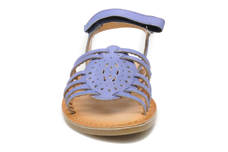 Sandales et nu-pieds Mod8 ZEN Bleu vue portées chaussures
