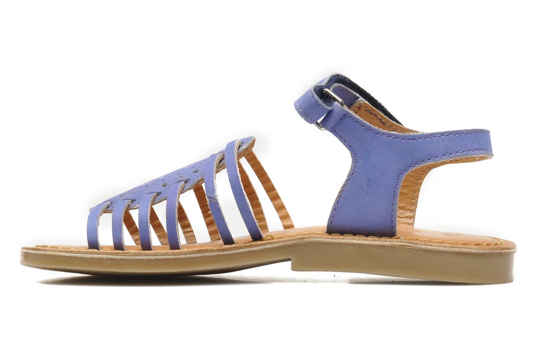 Sandales et nu-pieds Mod8 ZEN Bleu vue face