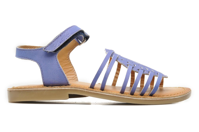 Sandales et nu-pieds Mod8 ZEN Bleu vue derrière