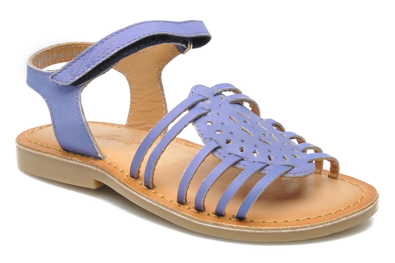 Sandales et nu-pieds Mod8 ZEN Bleu vue détail/paire