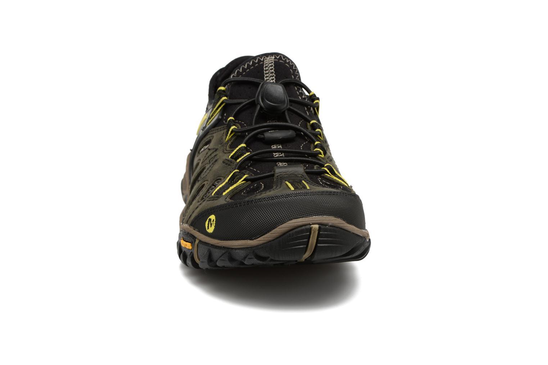 Sportskor Merrell Allout Blaze Sieve Svart bild av skorna på